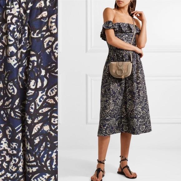 885510d77350a5 Apiece Apart Dresses   Novella Maria Dress In Blue Batik   Poshmark